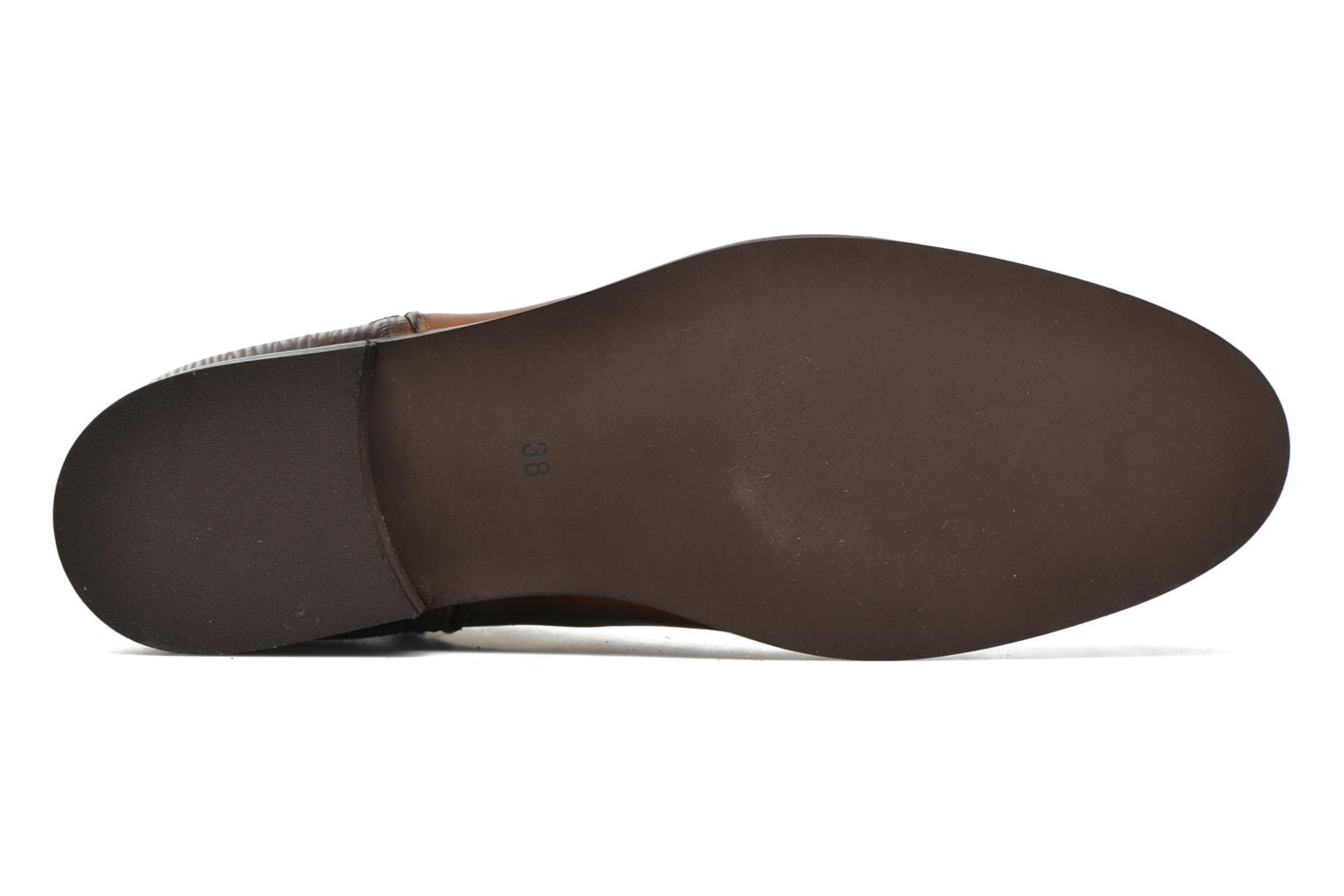 Ankle boots PintoDiBlu Marmara Brown view from above