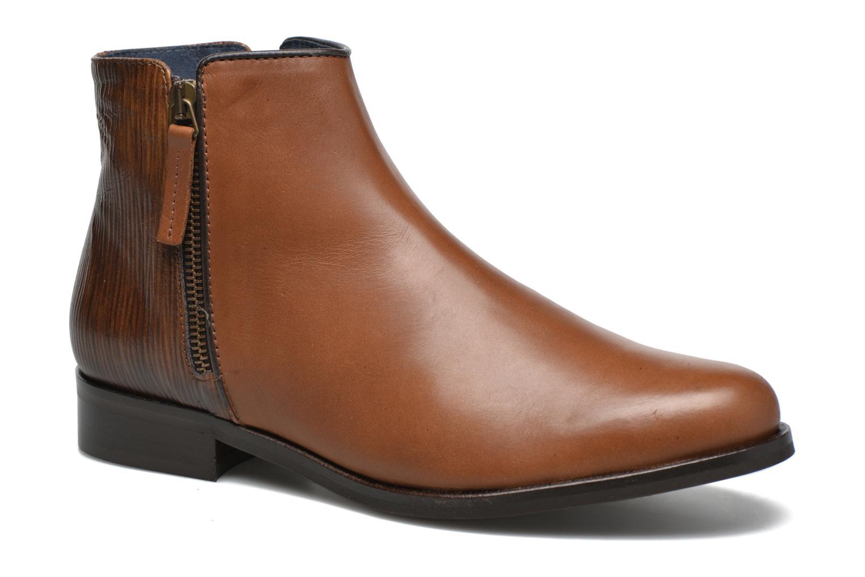Boots en enkellaarsjes PintoDiBlu Marmara Bruin detail