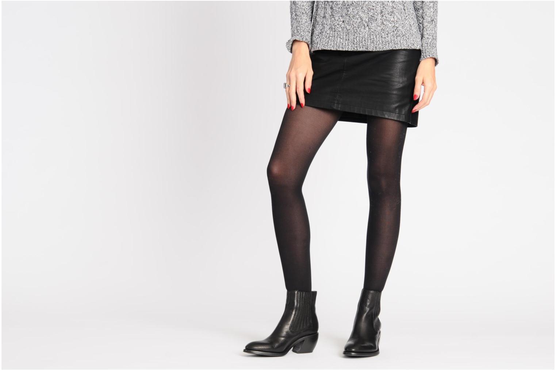 Stiefeletten & Boots Free Lance Iona 7 Jodphur schwarz ansicht von unten / tasche getragen