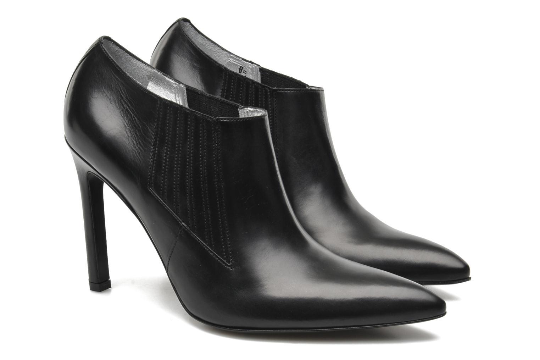 Bottines et boots Free Lance Forel 9 Loafer Noir vue 3/4