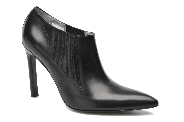 Bottines et boots Free Lance Forel 9 Loafer Noir vue détail/paire