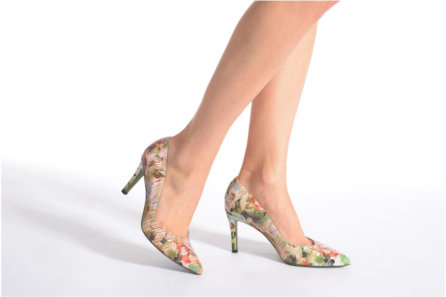 High heels Free Lance Itlys 7 Pumps Multicolor view from underneath / model view