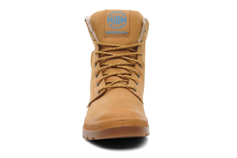Stiefeletten & Boots Palladium Pampa Sport Wps beige schuhe getragen