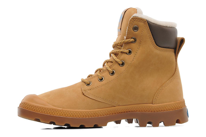 Boots en enkellaarsjes Palladium Pampa Sport Wps Beige voorkant