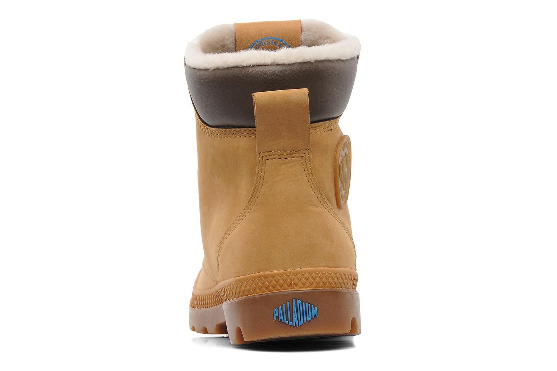 Boots en enkellaarsjes Palladium Pampa Sport Wps Beige rechts