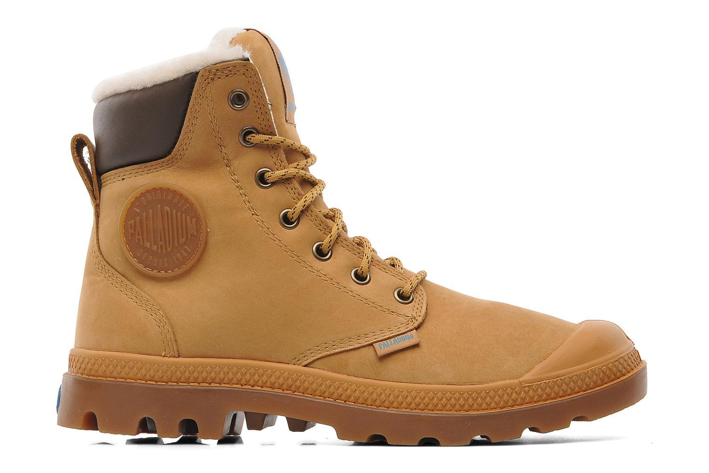 Boots en enkellaarsjes Palladium Pampa Sport Wps Beige achterkant
