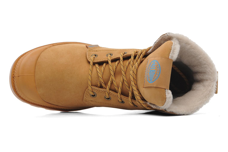Stiefeletten & Boots Palladium Pampa Sport Wps beige ansicht von links
