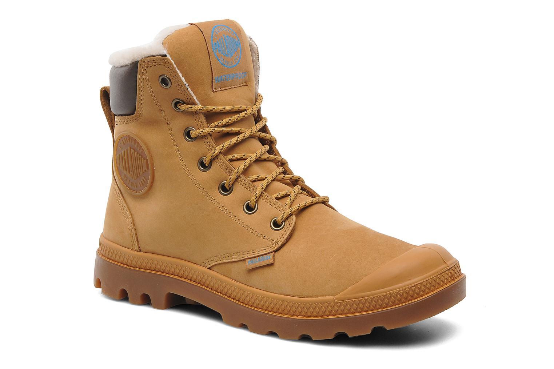 Stiefeletten & Boots Palladium Pampa Sport Wps beige detaillierte ansicht/modell