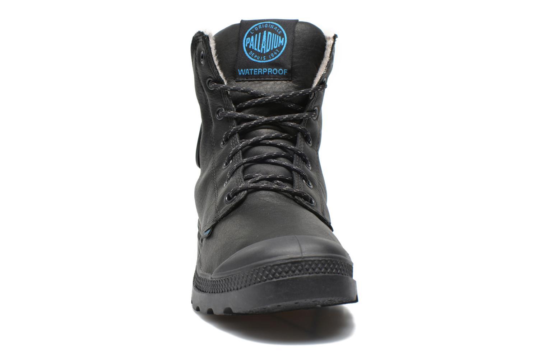Bottines et boots Palladium Pampa Sport Wps Noir vue portées chaussures