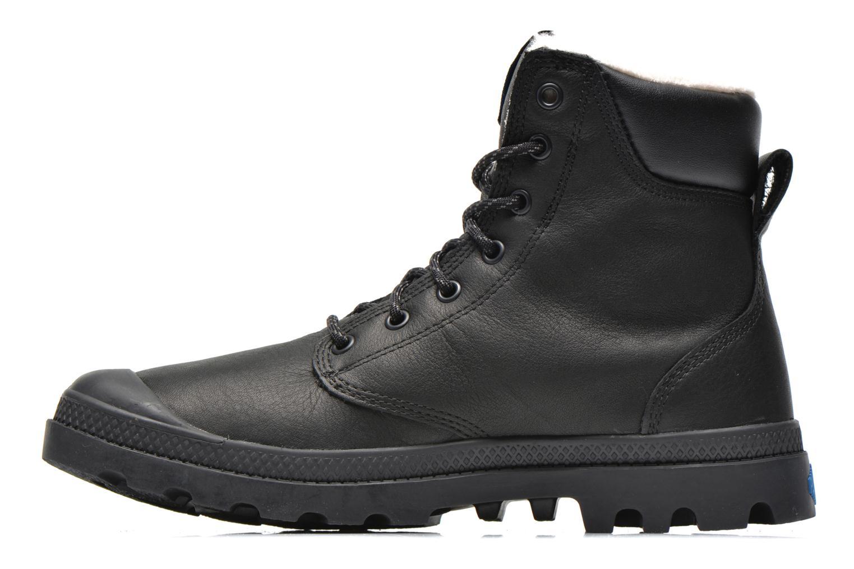 Boots en enkellaarsjes Palladium Pampa Sport Wps Zwart voorkant