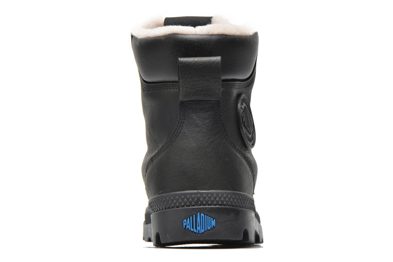 Boots en enkellaarsjes Palladium Pampa Sport Wps Zwart rechts