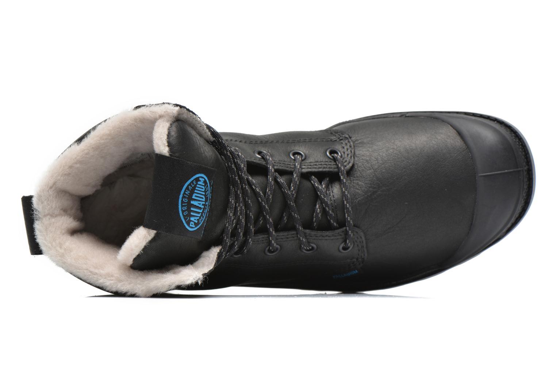 Boots en enkellaarsjes Palladium Pampa Sport Wps Zwart links