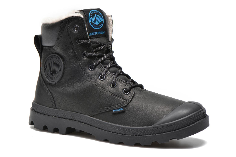 Boots en enkellaarsjes Palladium Pampa Sport Wps Zwart detail