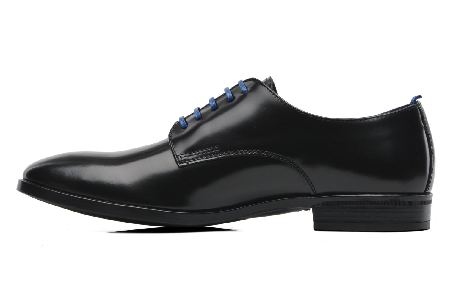 Lace-up shoes Azzaro Uriac Black front view