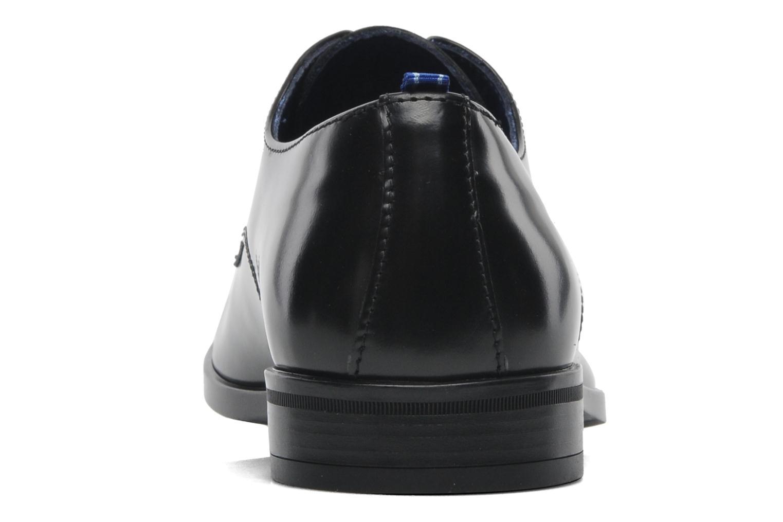 Chaussures à lacets Azzaro Uriac Noir vue droite
