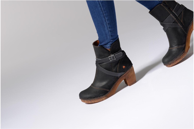 Bottines et boots Art Amsterdam 343 Noir vue bas / vue portée sac