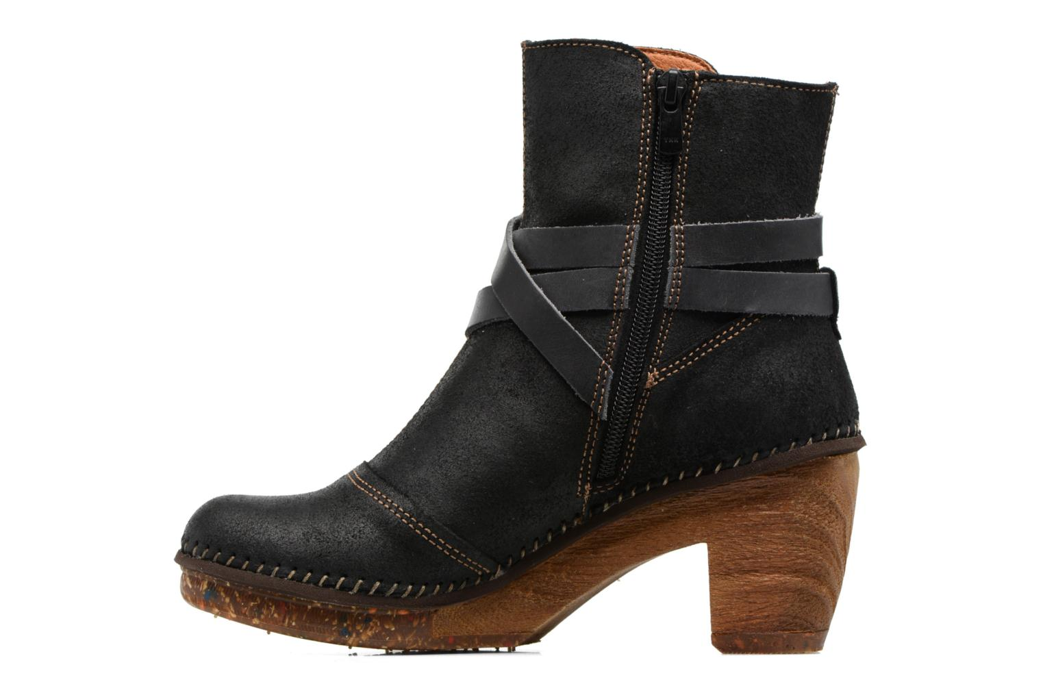 Ankle boots Art Amsterdam 343 Black front view