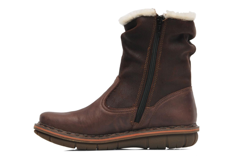 Bottines et boots Art Assen 433 Marron vue face