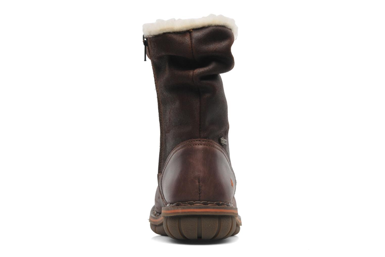 Bottines et boots Art Assen 433 Marron vue droite