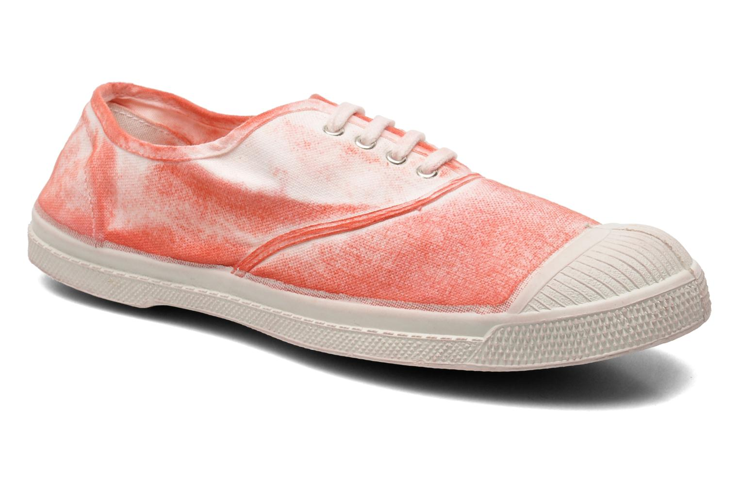 Trainers Bensimon Tennis Nuage Red detailed view/ Pair view