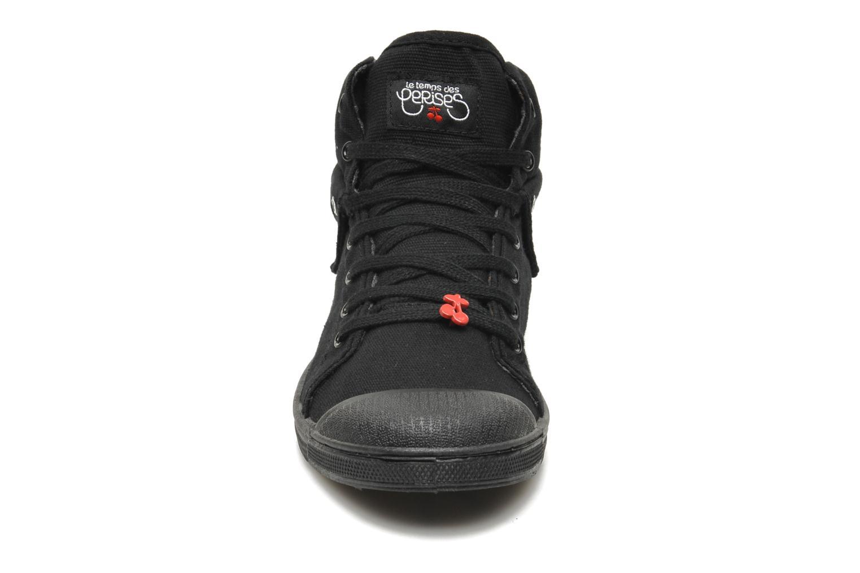 Baskets Le temps des cerises Basic 03 Revers Noir vue portées chaussures