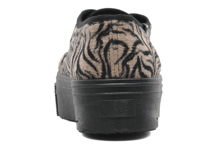 Sneakers Le temps des cerises Jump Low Mono Zwart rechts