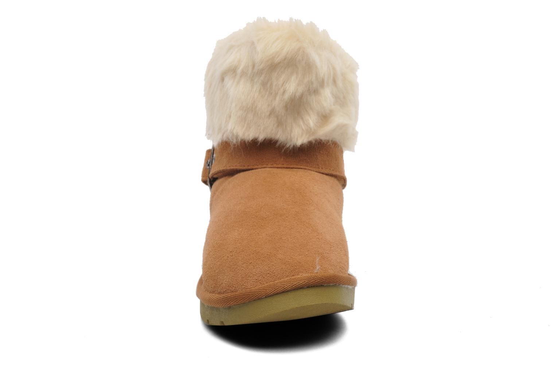 Bottines et boots Le temps des cerises Lucy Marron vue portées chaussures