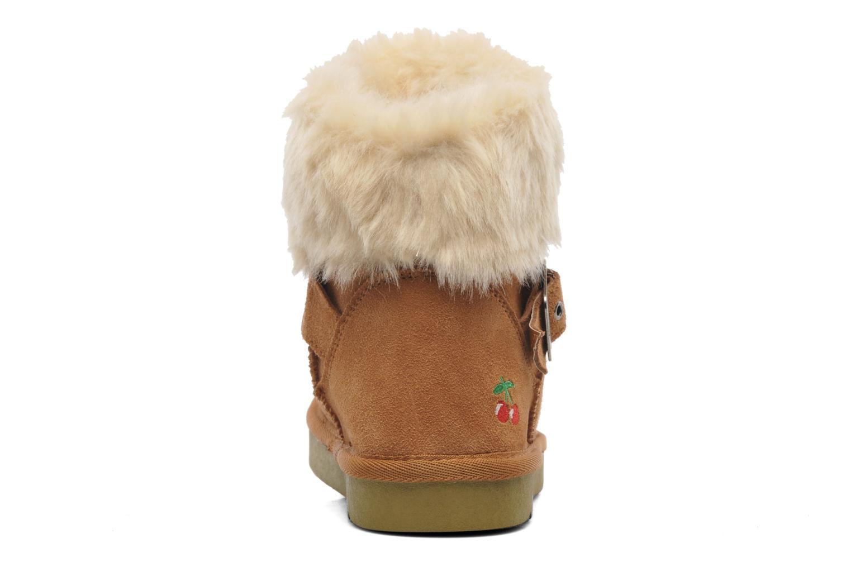 Bottines et boots Le temps des cerises Lucy Marron vue droite