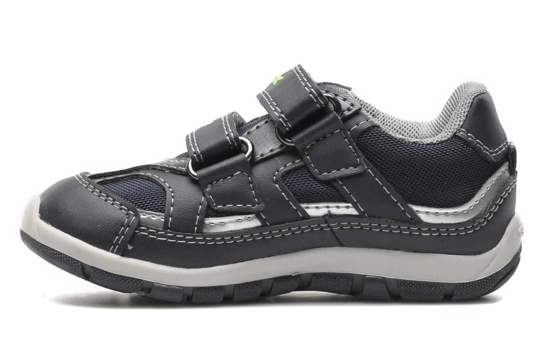 Sneaker Geox B SHAAX A blau ansicht von vorne