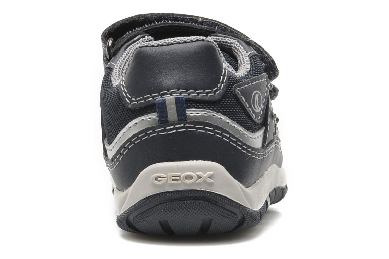 Sneaker Geox B SHAAX A blau ansicht von rechts