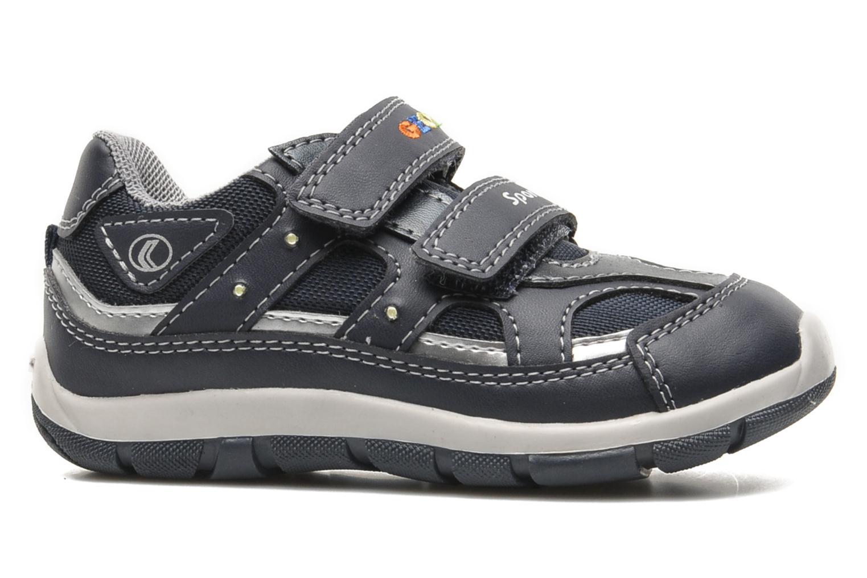 Sneakers Geox B SHAAX A Blauw achterkant