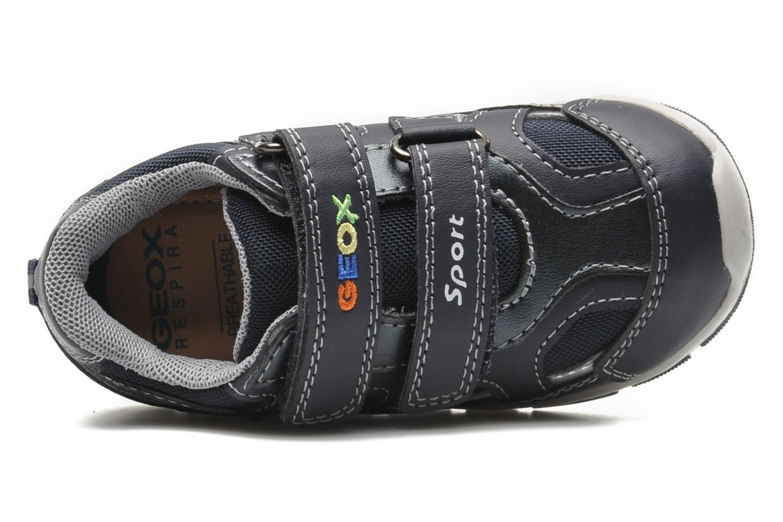 Sneaker Geox B SHAAX A blau ansicht von links