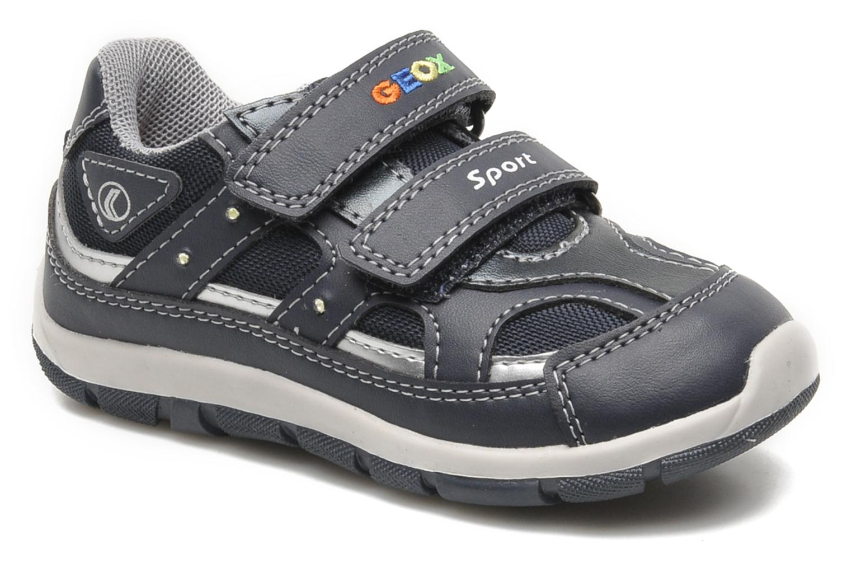 Sneaker Geox B SHAAX A blau detaillierte ansicht/modell