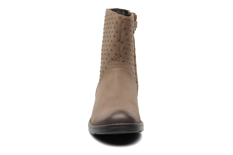 Bottines et boots Geox JR SOFIA A Beige vue portées chaussures