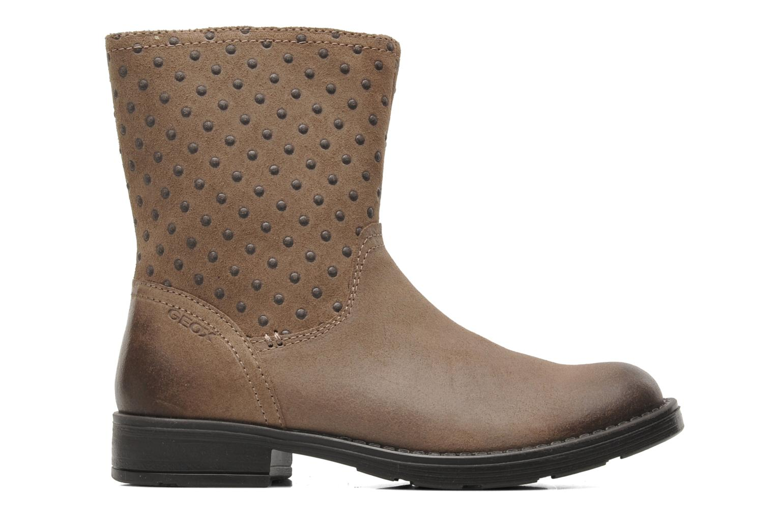 Ankle boots Geox JR SOFIA A Beige back view