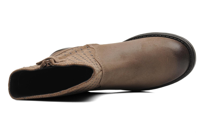 Boots en enkellaarsjes Geox JR SOFIA A Beige links