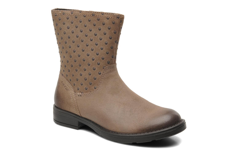 Ankelstøvler Geox JR SOFIA A Beige detaljeret billede af skoene