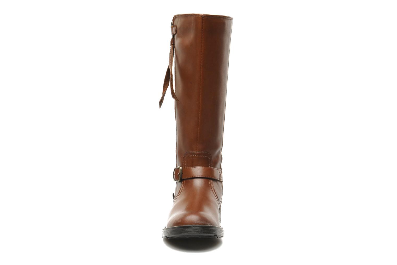 Bottes Geox JR SOFIA D Marron vue portées chaussures