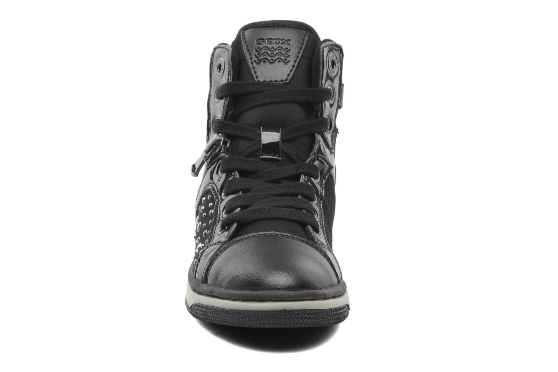 Baskets Geox JR CREAMY C Noir vue portées chaussures