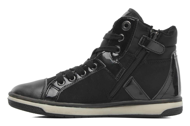 Sneakers Geox JR CREAMY C Nero immagine frontale