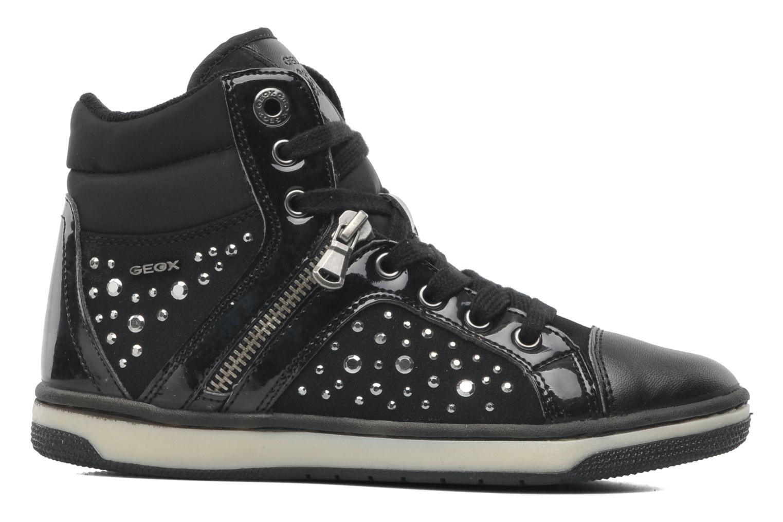 Sneakers Geox JR CREAMY C Nero immagine posteriore