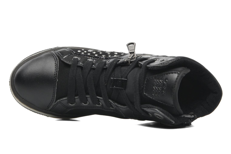Sneakers Geox JR CREAMY C Svart bild från vänster sidan