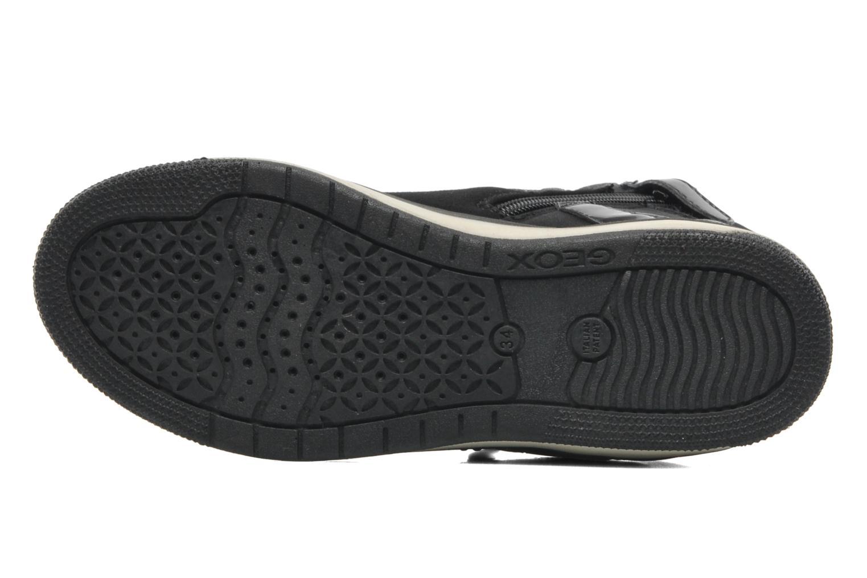 Sneakers Geox JR CREAMY C Nero immagine dall'alto