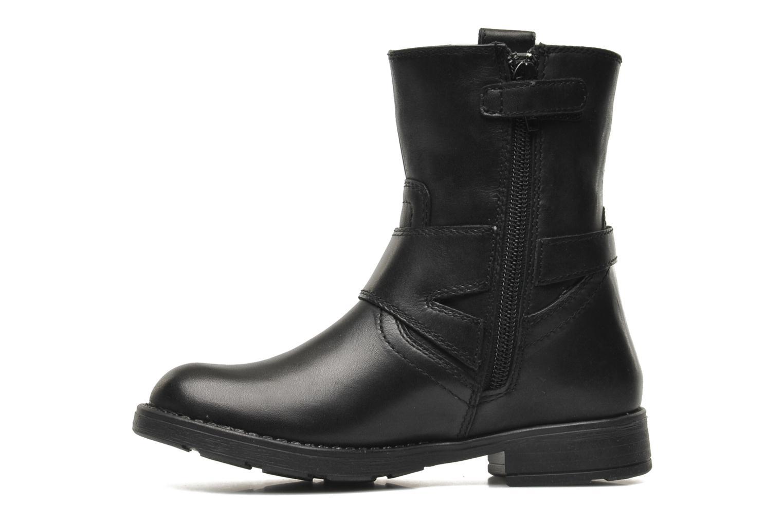 Boots en enkellaarsjes Geox JR SOFIA B ABX D Zwart voorkant