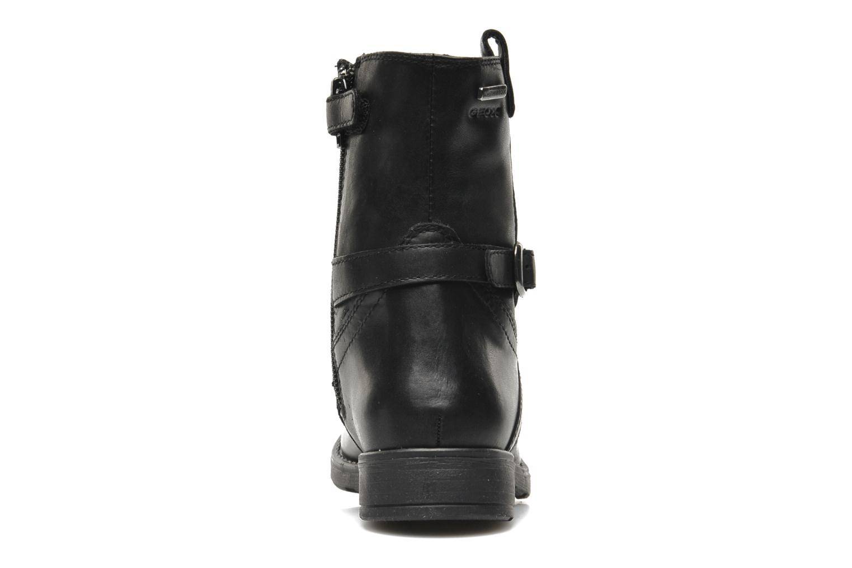 Boots en enkellaarsjes Geox JR SOFIA B ABX D Zwart rechts