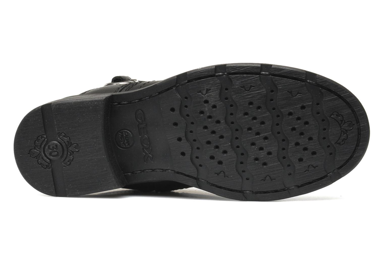 Stiefeletten & Boots Geox JR SOFIA B ABX D schwarz ansicht von oben