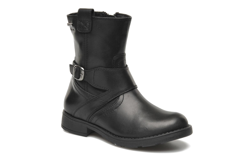 Boots en enkellaarsjes Geox JR SOFIA B ABX D Zwart detail