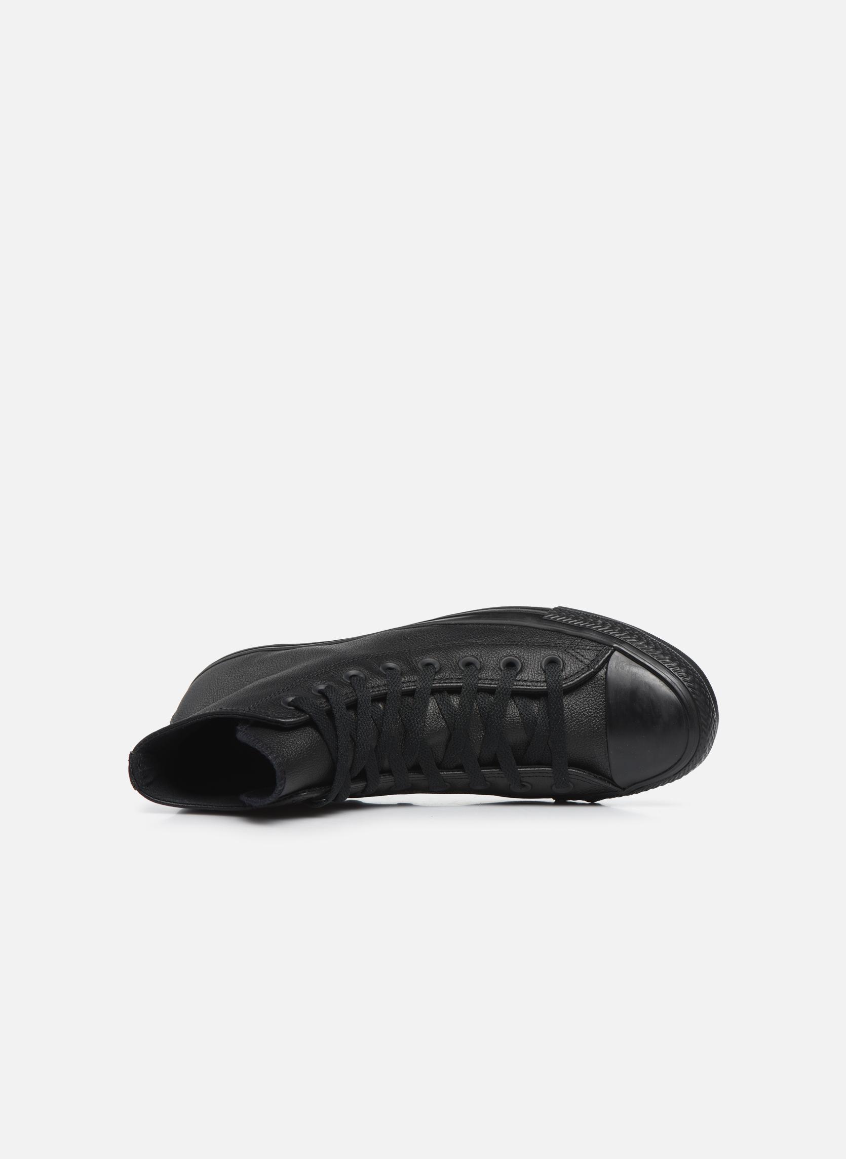 Sneakers Converse Chuck Taylor All Star Mono Leather Hi M Svart bild från vänster sidan