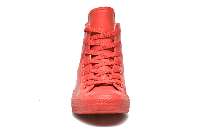 Baskets Converse Chuck Taylor All Star Rubber Hi W Rouge vue portées chaussures