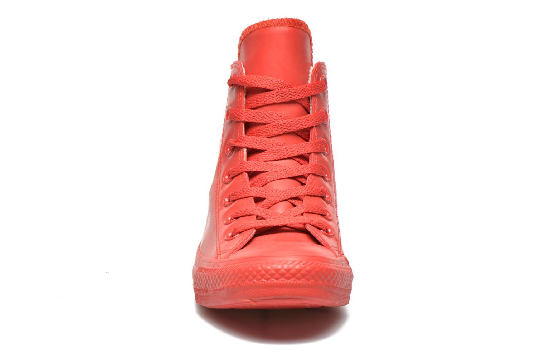 Sneakers Converse Chuck Taylor All Star Rubber Hi W Rød se skoene på
